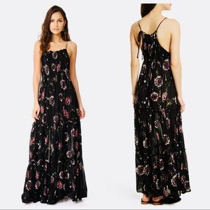 NWT Free People Garden Party Floral Maxi